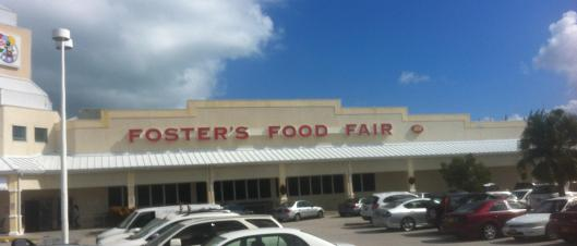 Foster's Food Fair, Grand Cayman on Canal Point Drive.