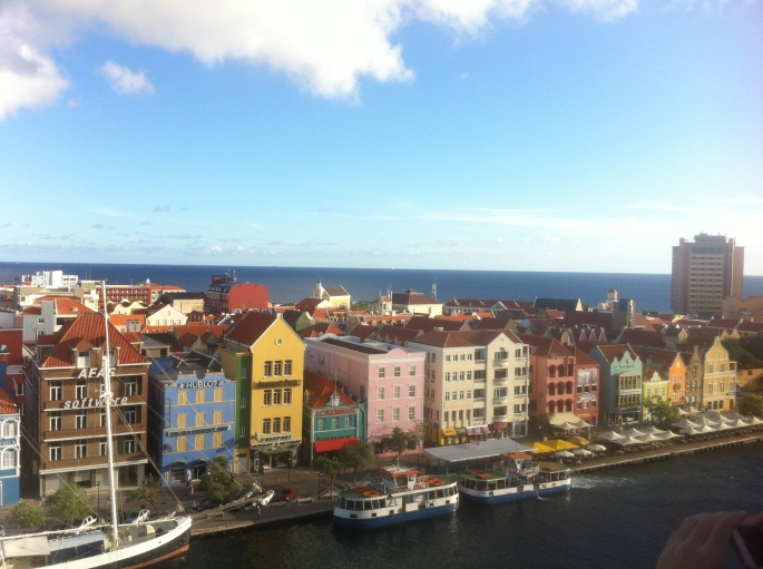 Punda district of Willemstad.