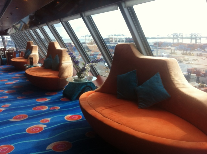 The Spinnaker Lounger where bingo is played is very well done and fun in style.