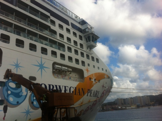 The Norwegian Pearl.