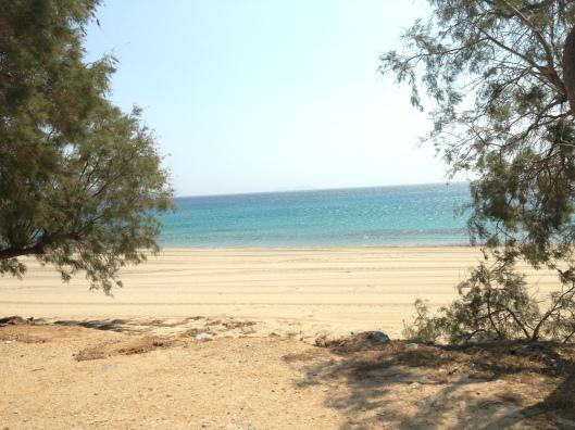 Aphrodite Beach, Mykonos Island, Greece