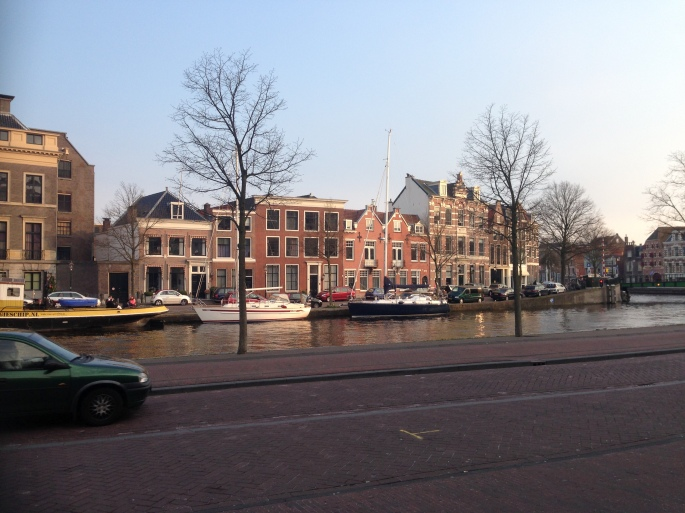 To the south of the old town is this beautiful canal and gorgeous Dutch architecture.