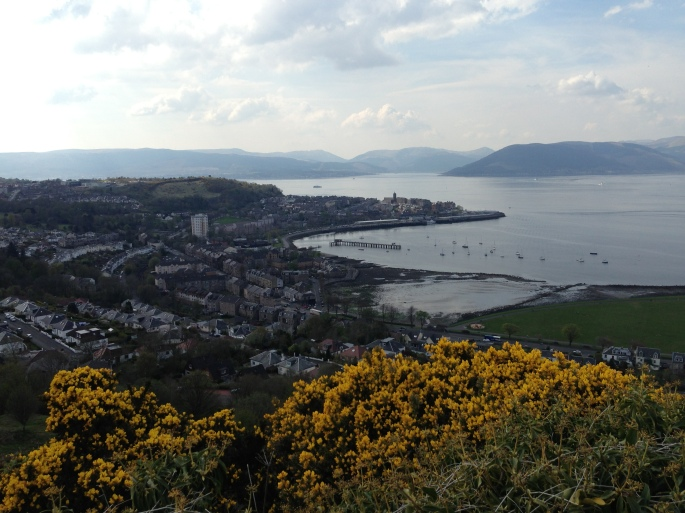 Another view from Lyle Hill Greenock.