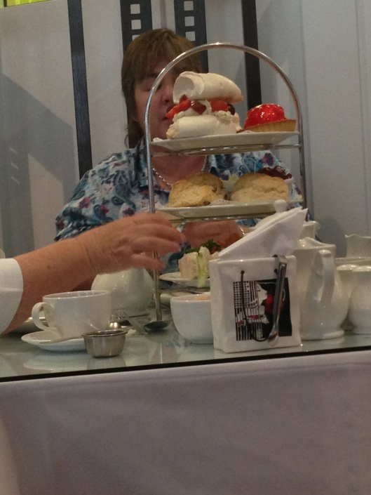 The people at the table next to us ordered the afternoon tea and it looked fabulous.