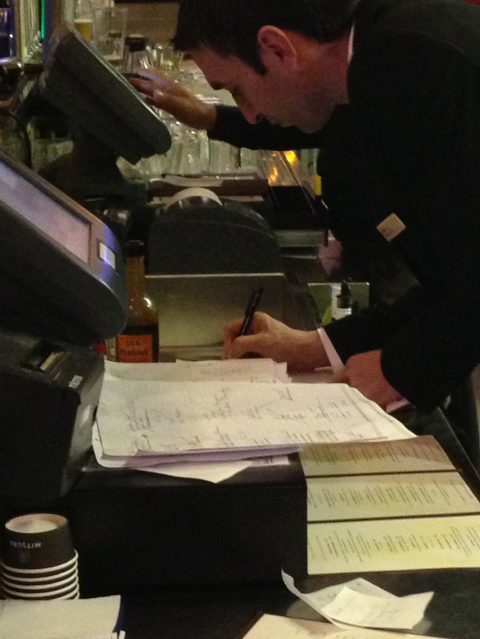 Paperwork took priority over waiting guests at the Dublin Airport HIlton