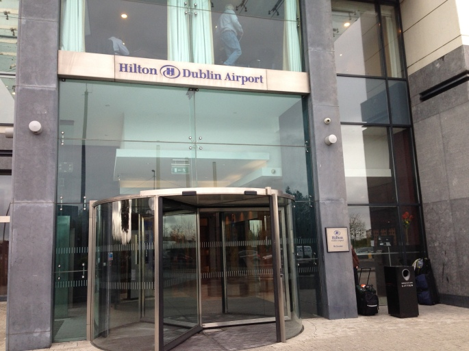 Entrance to the Dublin Airport Hilton