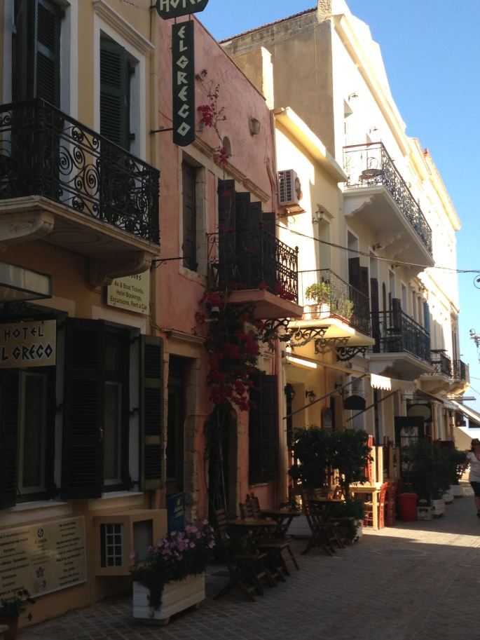Many lanes wind around the old town and many of them are incredibly charming with lots of little hotels and cafes.