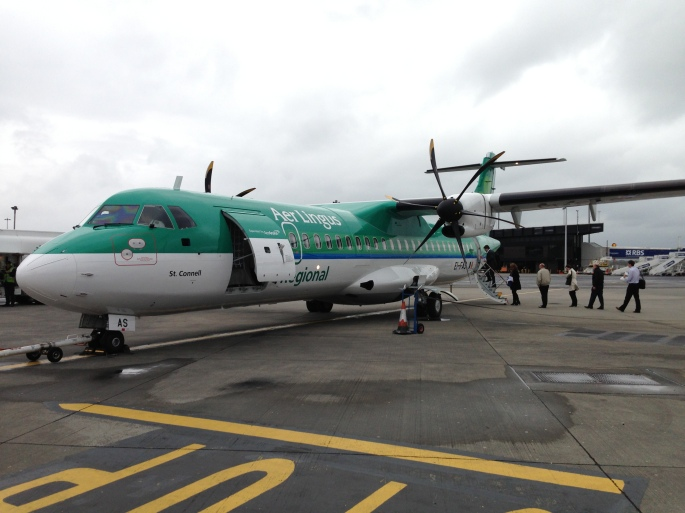 Aer Lingus operate a lot of regional routes out of DUB making them quite easy to get to the UK and Europe from the Irish Republic.