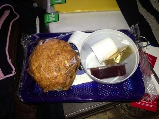 A light snack for breakfast on Aer Lingus.