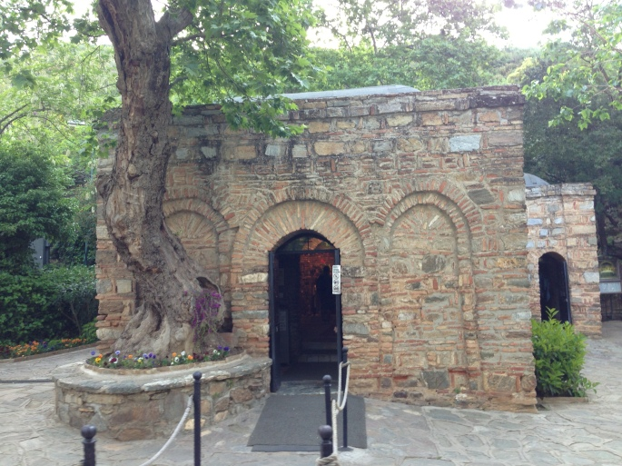 House of the Virgin Mary, Selcuk, Turkiye.