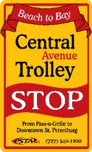 The Central Avenue Trolley connects the Chihuly Collection and the museum district with the Morean Arts Center in the Central Arts District and passes through the Edge and Grand Central Districts.  Alight at 22nd Street for the Historic Train Station and walk four blocks to the Warehouse Arts District.