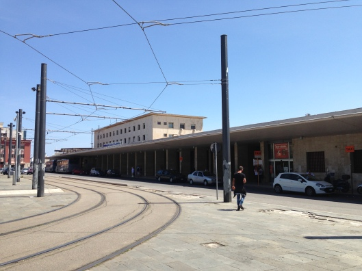 Messina Centrale is very near the port where cruise ships dock and is easily reached on foot.