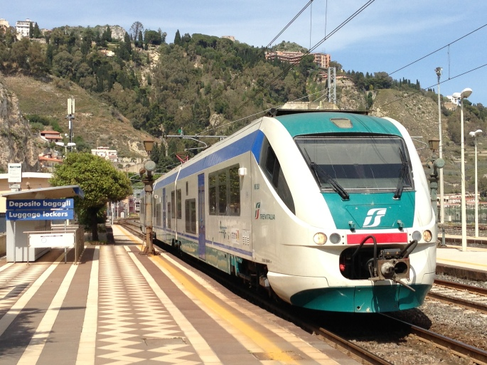 Frequent rail service connects Messina to Taormina-Giardini making it an easy day trip from the city if you're in port.