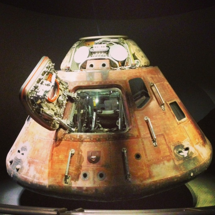 Each and every artifact that was in the museums section left you awe-inspired.  Kennedy Space Center, Titusville, Florida