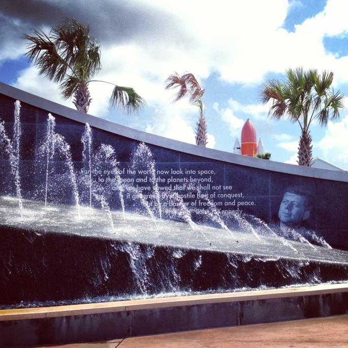There is inspiration everywhere at Kennedy Space Center, Titusville, Florida