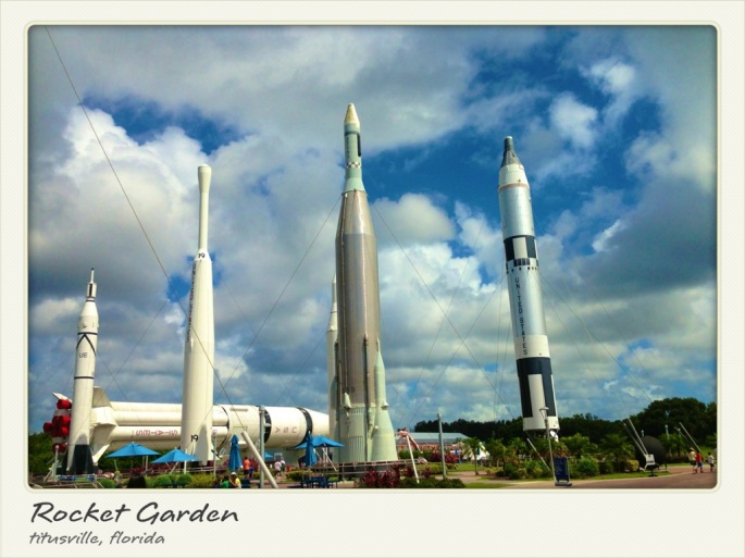 Rocket Garden, Kennedy Space Center, Titusville, Florida