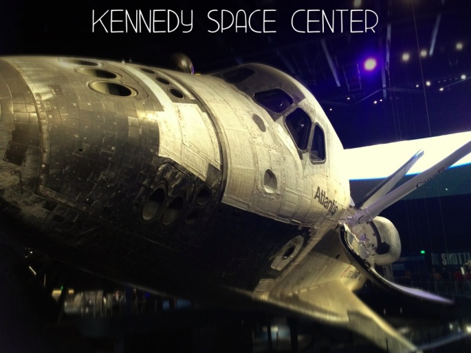 The Space Shuttle at the New Atlantis Experience, Kennedy Space Center, Titusville, Florida