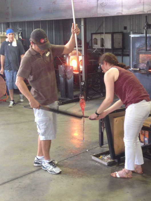 The Morean Hot Shop & Glass Studio in the 700 block features glass blowing demonstrations four times daily and opportunities to experience glass blowing one on one with an artist daily.