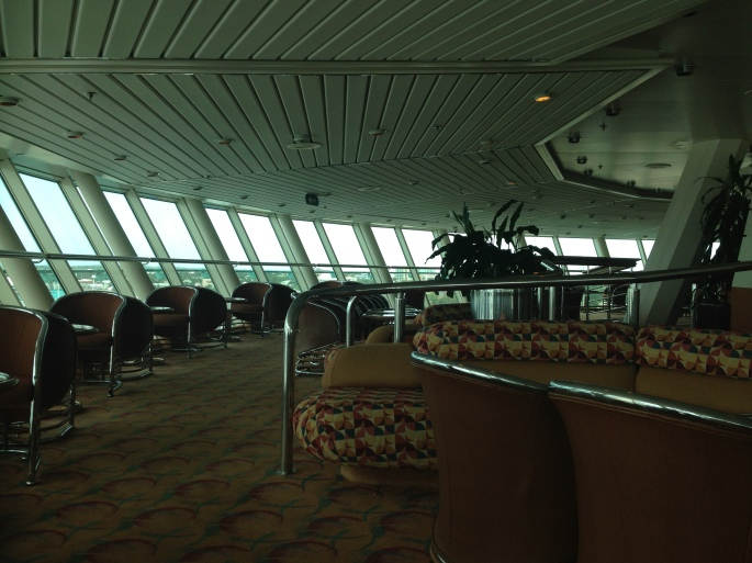 Viking Crown Lounge onboard the Royal Caribbean Majesty of the Seas.