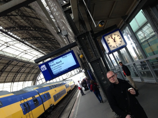 Amsterdam Central is where we picked up the Thalys train to Paris Gare du Nord.