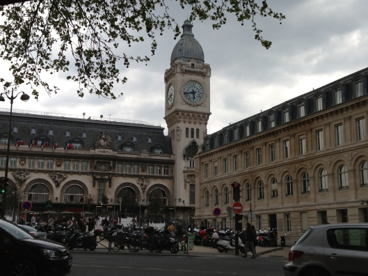 The majestic Gare de Lyon in Paris.