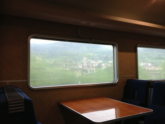 Always a reason to book a train is the views and the comfort of the buffet or restaurant car.