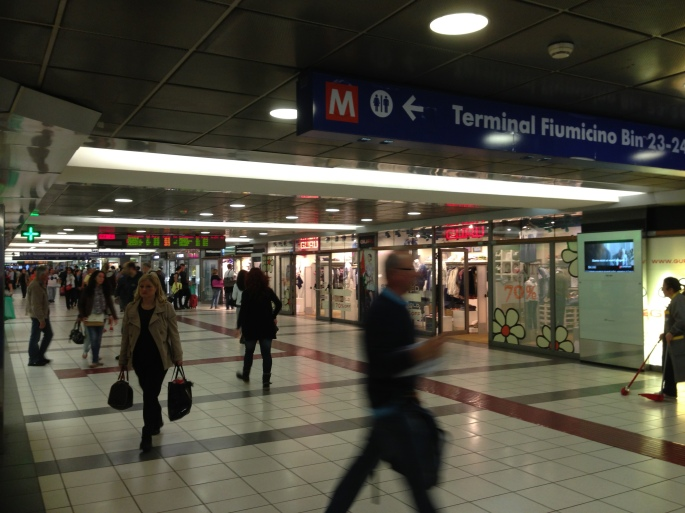 There's loads of services at Roma Termini station.