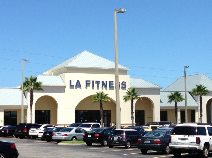 LA Fitness in the Tyrone district of St. Petersburg, Florida.
