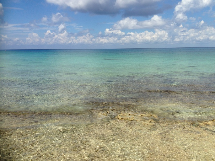 The water is incredible with visible reefs and ever changing colors and is free to explore if you have your own snorkeling equipment or rent from the Playa Corona Beach Club and easily walk in for instant snorkeling at the put-in for off shore snorkeling in Cozumel, Mexico.