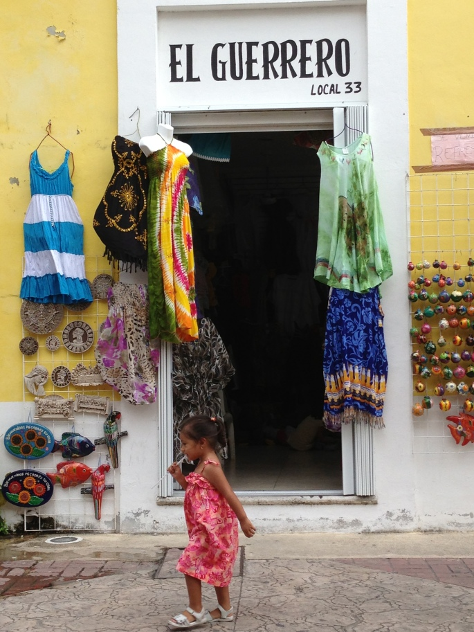 One of the many charming little shops in the town centre of San Miguel, Cozumel, Mexico.