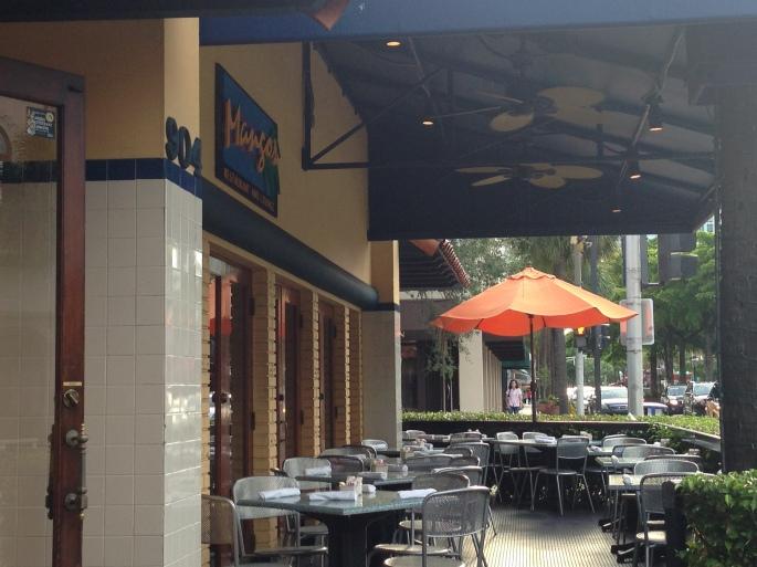 Mango's on Las Olas Blvd. in Ft. Lauderdale.
