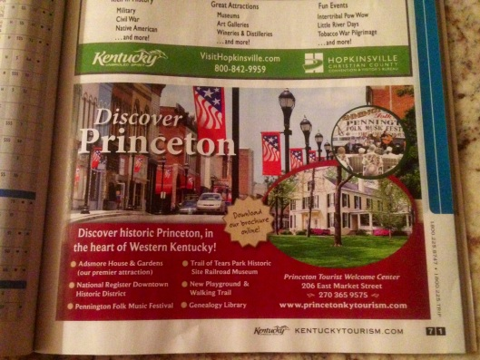 A well done ad for a small town called Princeton that really gives you a feel for the town.