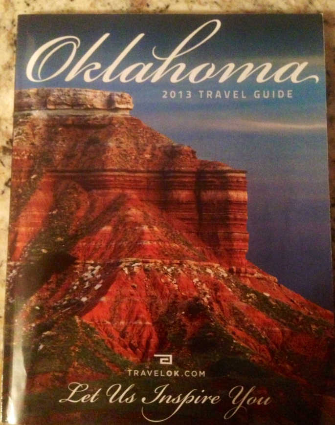 Cover of the very well done Oklahoma Visitors Guide.