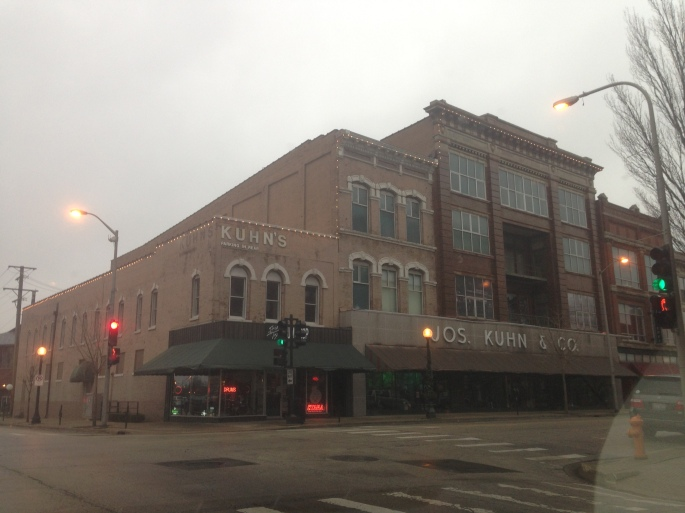 The men's store, Joseph Kuhn & Company is still trading in downtown Champaign, Illinois since 1865.