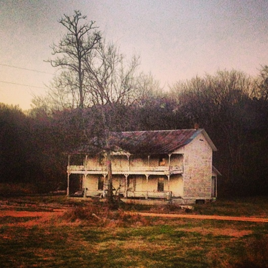 Abandoned buildings dot the landscape of the byways in amazingly high numbers.