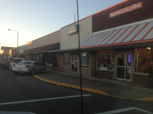 Hohenwald, Tennessee's downtown.