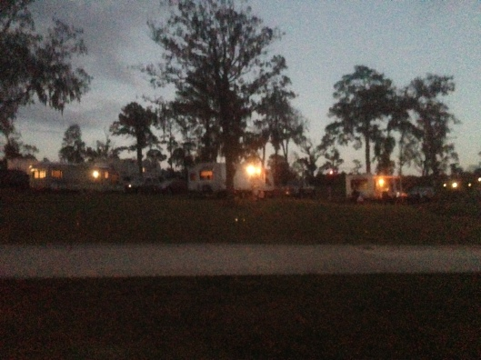 The KOA campground on Lake Livingston is popular and has an onsite restaurant and bar.