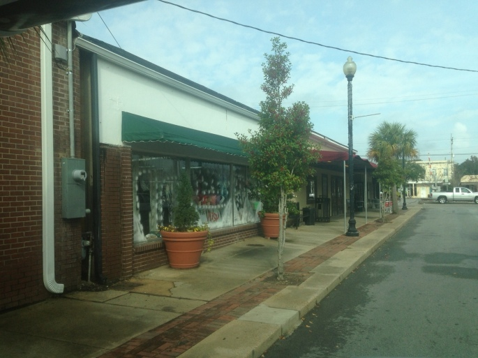 Downtown Pascagoula, Mississippi.