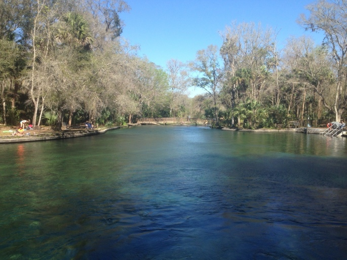 Wekiwa Springs, Apopka, Florida.
