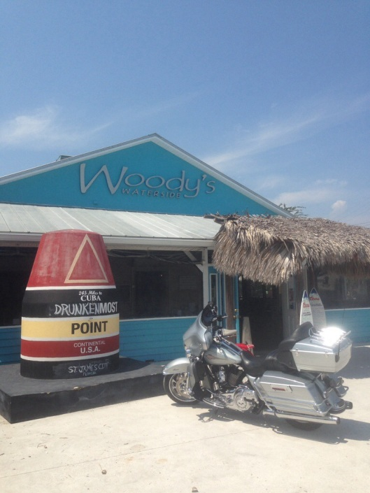 Woody's Waterside in St. James City features excellent food, cold beer, dockside and inside seating and fast service.