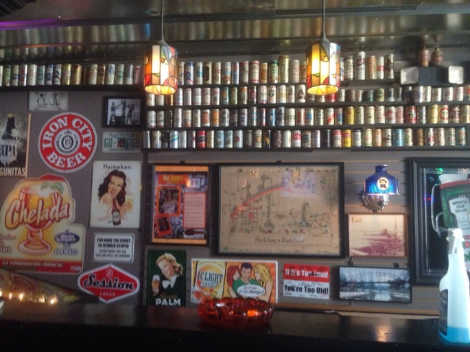 For anyone interested in beer history, the interior of Shorty's Bar in downtown Punta Gorda, Florida is fascinating.