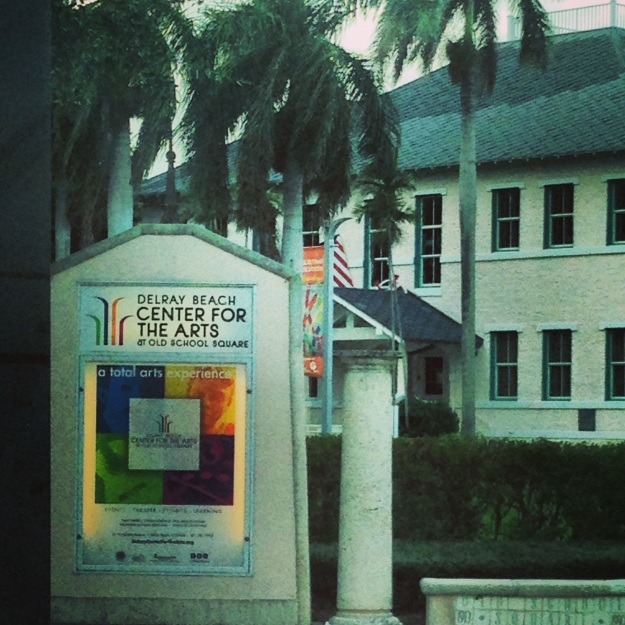 Many cities and towns in Florida have arts centers including Delray Beach.