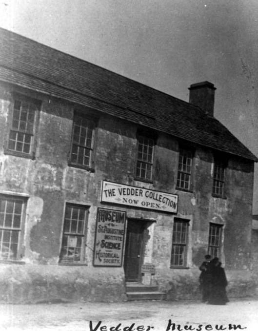The Vedder Museum in St. Augustine.  Photo courtesy State Archives of Florida.