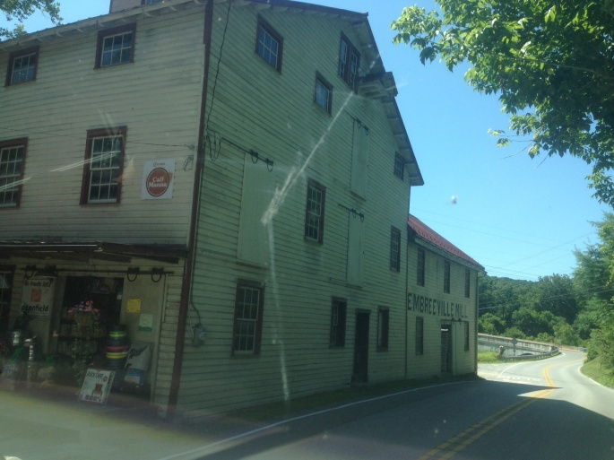 The backroads of the Brandywine area are filled with amazing small towns and historic structures.  This is the Embryville Mill.