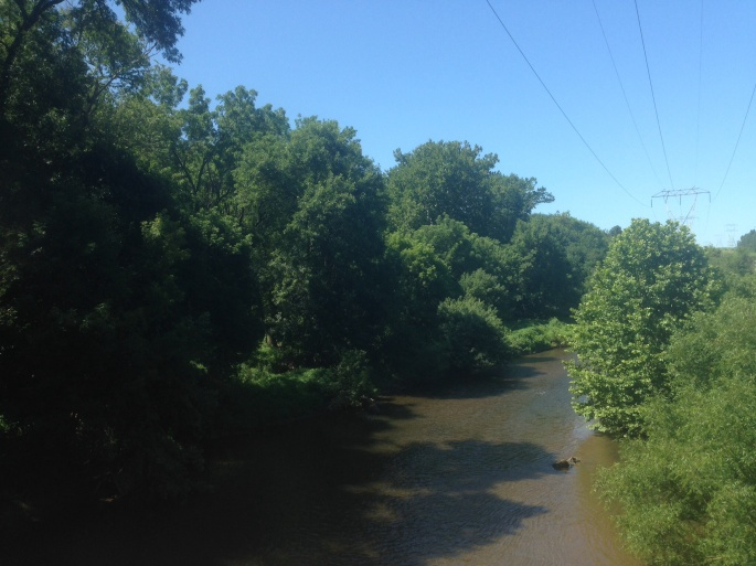 One of the many creeks and rivers we saw while prowling around the Brandywine area of Pennsylvania.