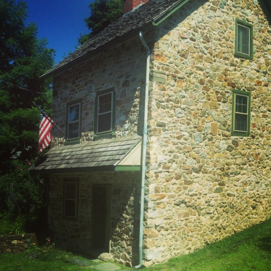 There were plenty of fascinating historic structures including this home in the countryside surrounding Coatesville, PA.