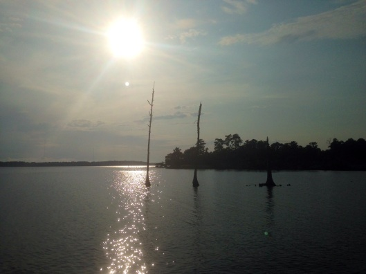 The Neuse River seen from the KOA Campground/New Bern, North Carolina