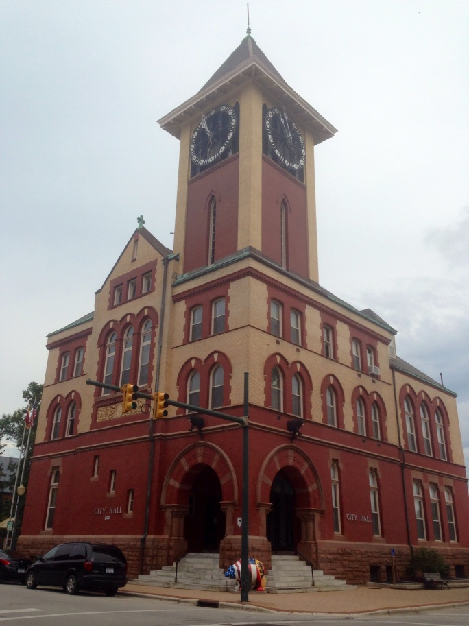 There is a lot of architecture to see in New Bern, North Carolina.