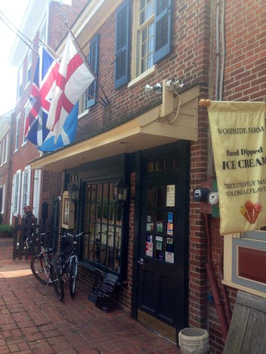 Jessop's Tavern in historic New Castle, Delaware.