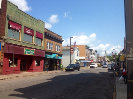 Downtown Hazleton is a bit rough and worn but there are plenty of places to explore for anyone but particularly urban explorers.
